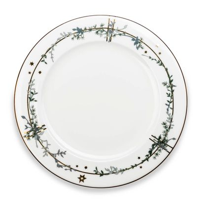 Formal plates - Winter Stars, Dinner Plate, 28 cm - JETTE FRÖLICH DESIGN