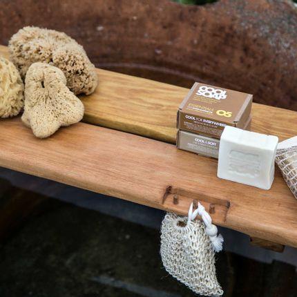 Porte savon - PLATEAU DE BAIN EN CHÊNE - COOL COLLECTION