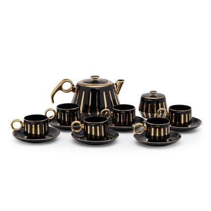 Carafes - Tea set - Tea pot and cup n saucer - SHAZE LUXURY RETAIL PVT LTD
