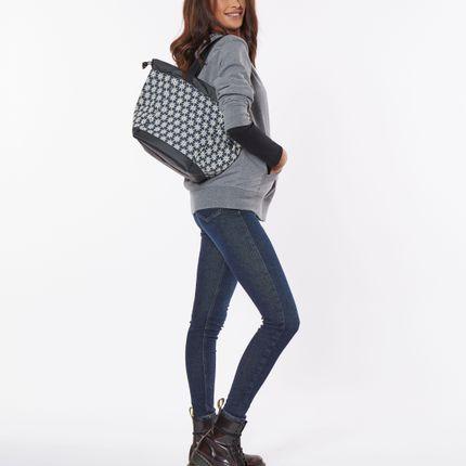 Bags / totes - BIG BOAT BAG DENIM FLOWERS M - DALZOTTO