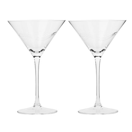 Stemware - Martini Glass - Stemware Lead free Crystal - SHAZE LUXURY RETAIL PVT LTD