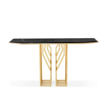 Tables consoles - Scarp Console Table  - COVET HOUSE