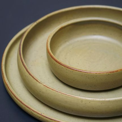 Everyday plates - Collection AUBE - SAS GOBERLOTE