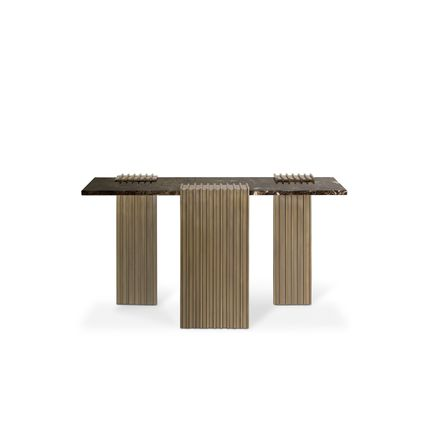 Tables consoles - Vertigo Console Table  - COVET HOUSE