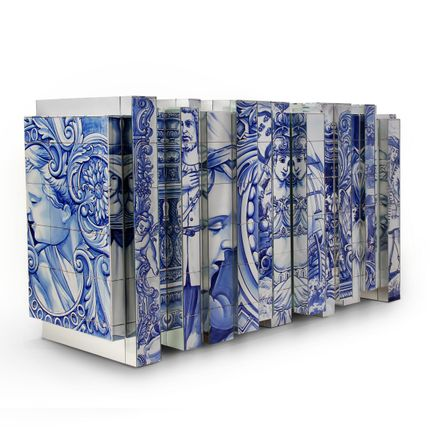 Sideboards - HERITAGE Sideboard in Classic Blue - BOCA DO LOBO