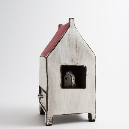 Ceramic - House on legs - BÉRANGÈRE CÉRAMIQUES