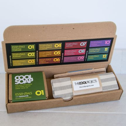 Soaps - GIFT SET GB01 - COOL SOAP