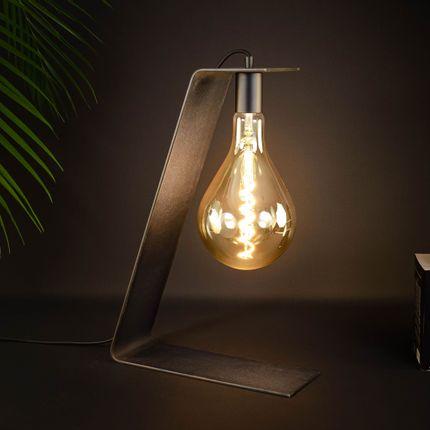 Lampes de table - TOWER 120 - BRUT D'ACIER
