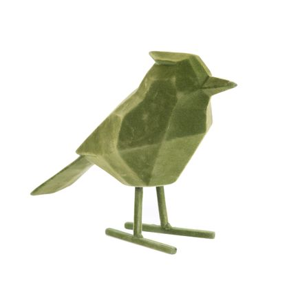 Sculptures / statuettes / miniatures - Statue Bird flocked - PRESENT TIME