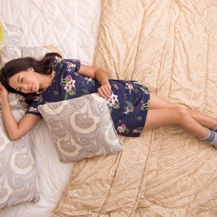 Comforters, pillows - Quilted camel blanket  - ERDENET HOME