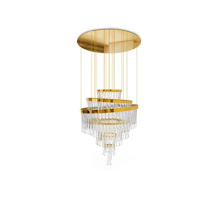 Ceiling lights - Babel Chandelier  - COVET HOUSE