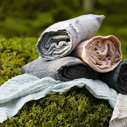 Bath linens - NYYTTI Linen-tencel bath towels - LAPUAN KANKURIT OY FINLAND