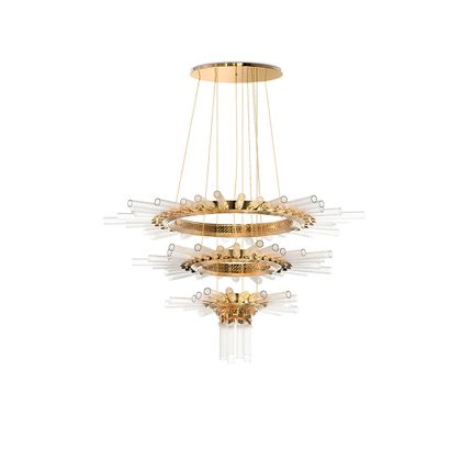Ceiling lights - Majestic Chandelier  - COVET HOUSE