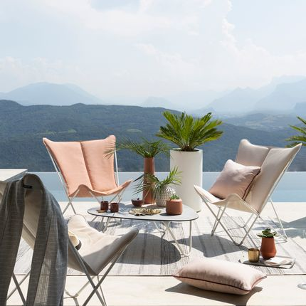 Lawn armchairs - SPHINX Lounge Chair - Opale  - LAFUMA MOBILIER