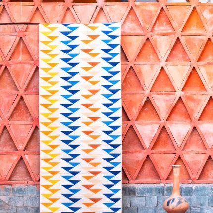 Design - Tapis Pasillo Triángulos - SANCHO PONCHO