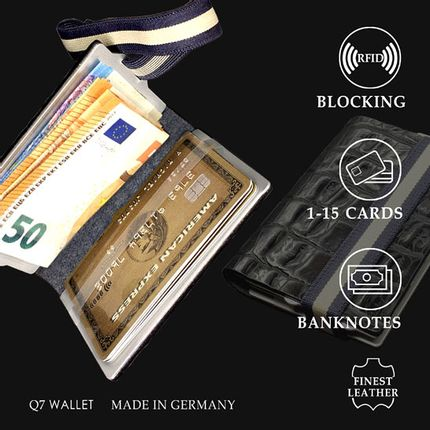 Travel accessories / suitcase - Q7 WALLET  - GGT PLUS GMBH   /  Q7 WALLET