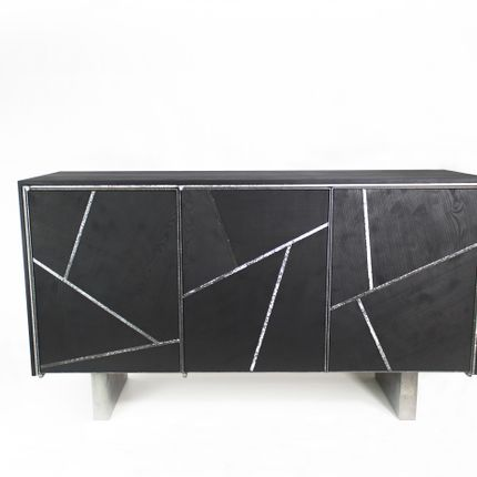 Sideboards - Buffet Black Ash - ATELIERNOVO