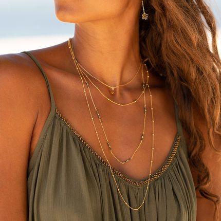 Jewelry - SEYCHELLES PYRITE CHAIN - FILAO BIJOUX