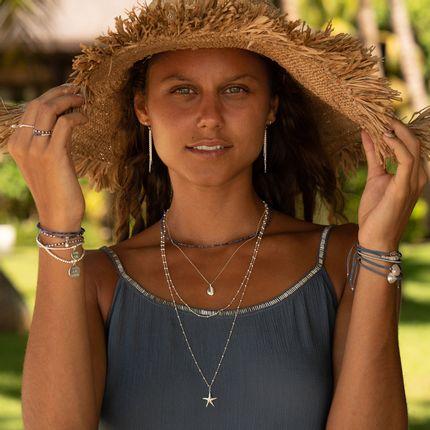 Jewelry - GRIGRI MARGARITA SILVER BRACELET - FILAO BIJOUX