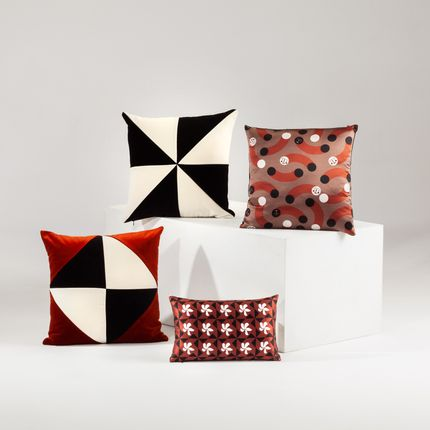 Cushions - DIAMOND velvet cushion - MY FRIEND PACO