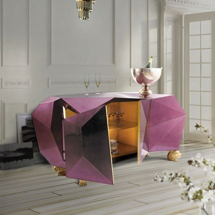 Sideboards - DIAMOND AMETHYST SIDEBOARD - INSPLOSION