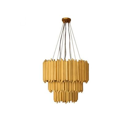 Hanging lights - BRUBECK CHANDELIER SUSPENSION - INSPLOSION