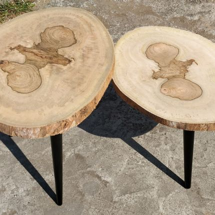 Tables de jardin - table basse - WILD-HERITAGE.COM