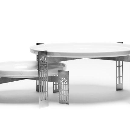 Platter, bowls - Arcades Buffet Tray - YOOK, BY RAMZI ABOUFADEL
