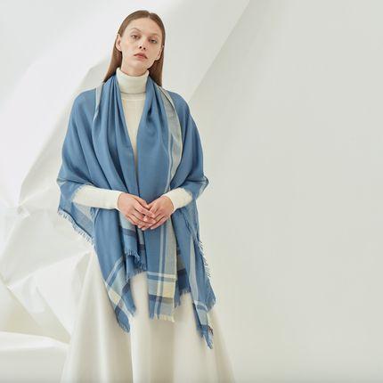 Homewear - Cashmere scarf - SANDRIVER CASHMERE