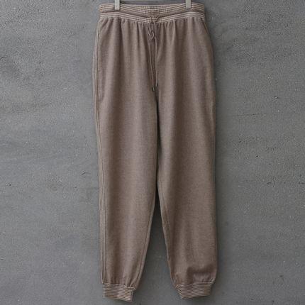 Homewear - Pantalon NATUREL en cachemire non teinté - Homme - SANDRIVER CASHMERE