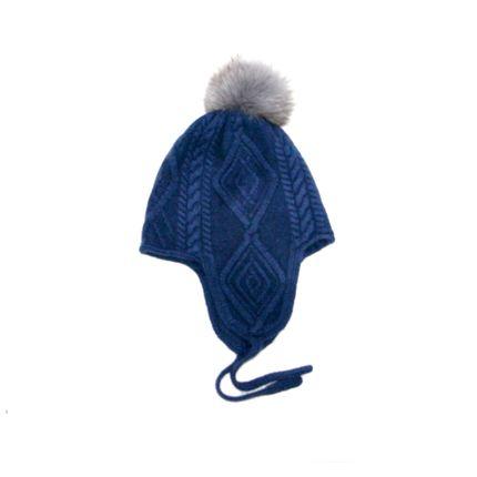 Hats - Cashmere beanie hat  - ERDENET CASHMERE