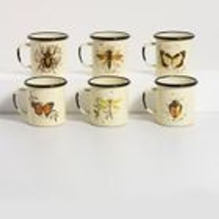 Mugs - Enamel mug nature - OFELIA1