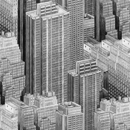 Upholstery fabrics - Manhattan - CHARLES BURGER