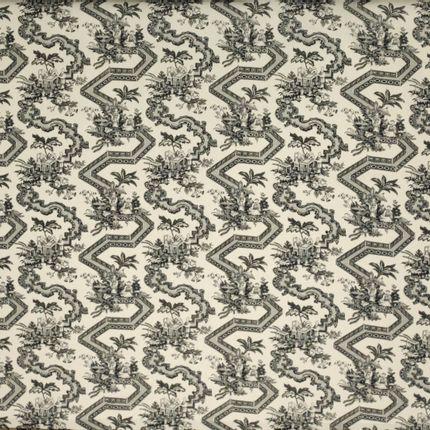 Upholstery fabrics - Jardin Zen - CHARLES BURGER