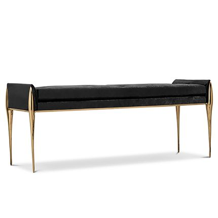 Bathroom furniture - Stiletto Bench - MAISON VALENTINA