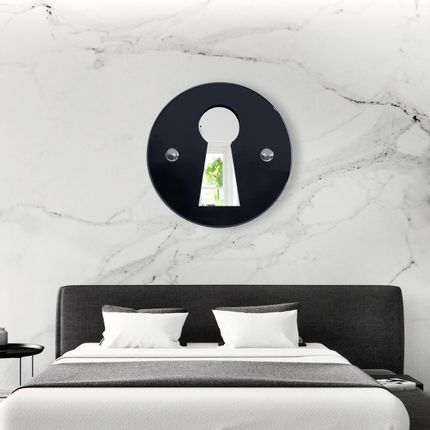 """Mirrors - """"L'INDISCRET"""" Wall mirror - MADE IN WAW !"""