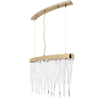 Pendant lamps - BABEL II SUSPENSION - LUXXU