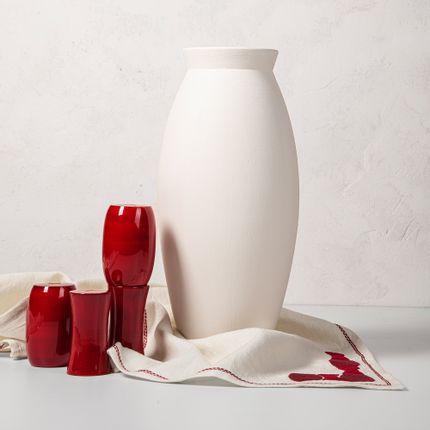 Vases - Vase à fleurs du désert blanc - IKAI ASAI