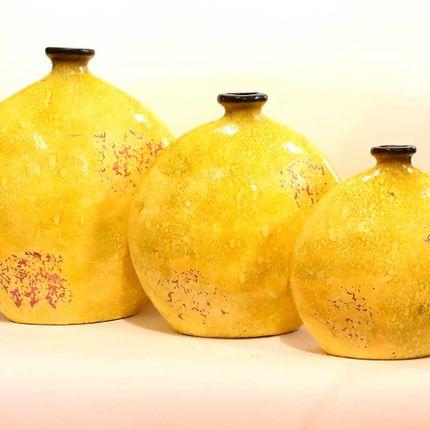 Pottery - Clay pottery vase FG002SIN - AMADERA