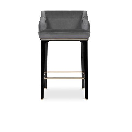 Chaises - SABOTEUR BAR CHAIR - LUXXU