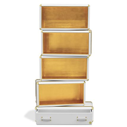 Bookshelves - Fantasy Air Bookcase Gold Limited Edition - CIRCU