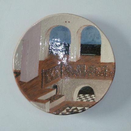 Objets de décoration - coupe décor architectural - ELISABETH BOURGET