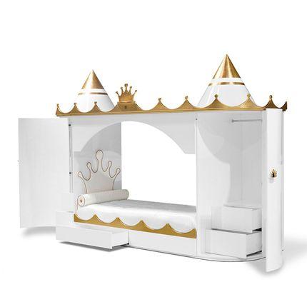 Beds - KINGS & QUEENS CASTLE BED - INSPLOSION