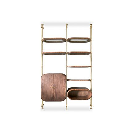 Bookshelves - Minelli Bookcase  - COVET HOUSE