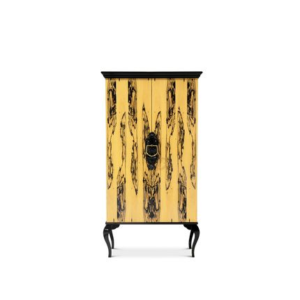 Storage box - Guggenheim Ebony Royal Cabinet  - COVET HOUSE