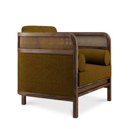 Armchairs - Crockford Armchair - WOOD TAILORS CLUB