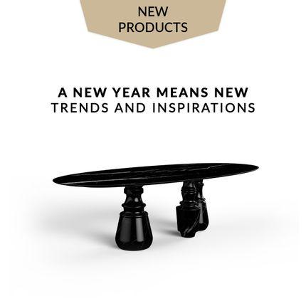 Mobilier et rangements - Pietra Table de salle à manger ovale XL - COVET HOUSE