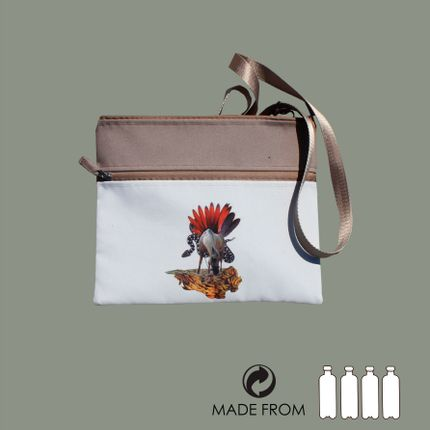 Bags / totes - Bag of recycled polyester - Nature collage - MAROOMS