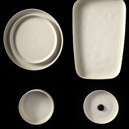 Formal plates - MOONBEAM DINNERWARE - SOUL STUDIO