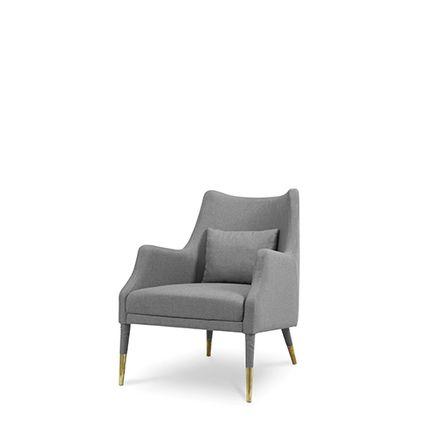 Armchairs - Carver Armchair - CAFFE LATTE